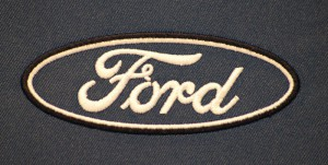 Strojová výšivka Ford