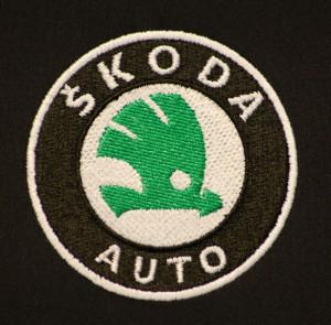Strojová výšivka Škoda