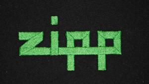 Strojová výšivka Zipp